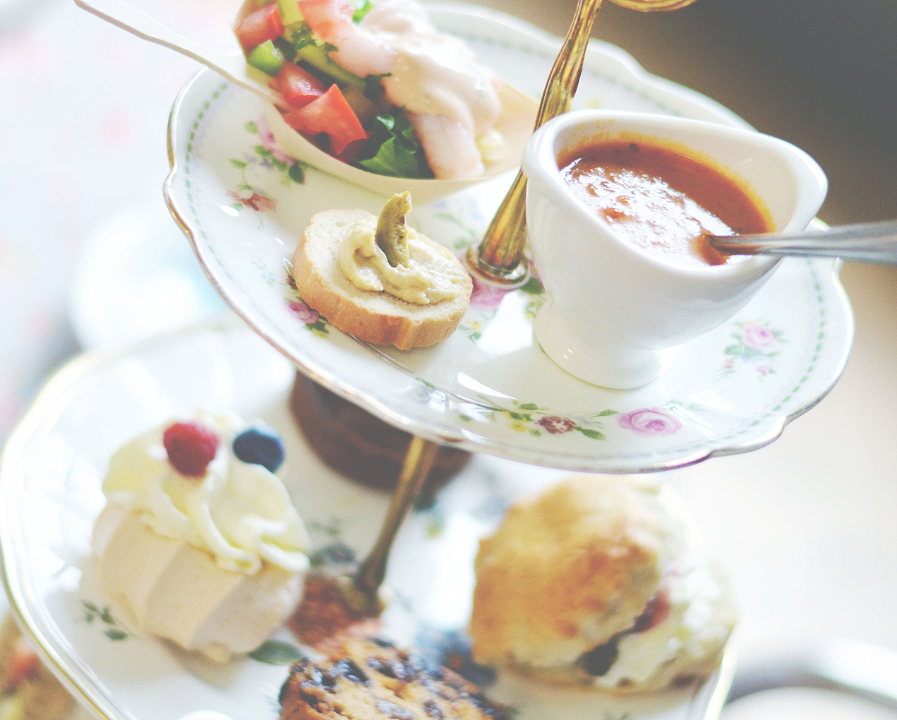 Afternoon Teas at Park's Art Deco Cafe, Blackpool 01