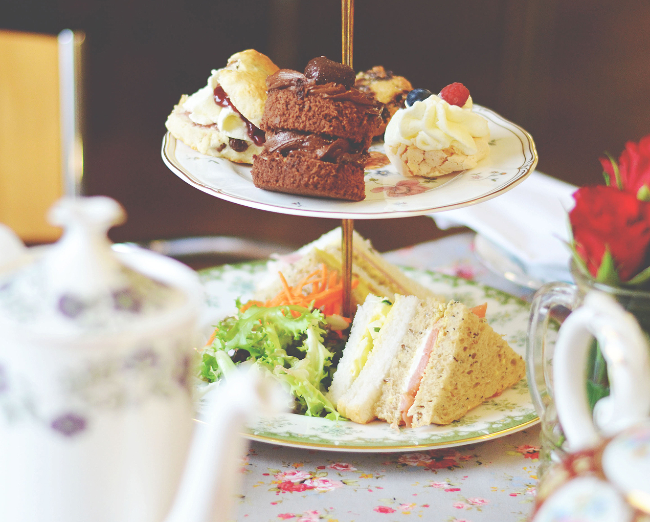 Afternoon Teas at Park's Art Deco Cafe, Blackpool 03