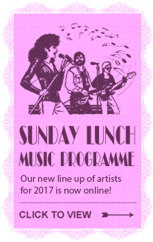 Sunday lunch music programme